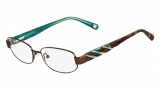 Nine West NW1022 Eyeglasses Eyeglasses - 200 Dark Brown