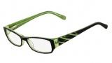 Nine West NW5012 Eyeglasses Eyeglasses - 019 Black / Lime Green