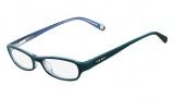 Nine West NW5016 Eyeglasses Eyeglasses - 320 Teal Blue