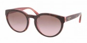 Coach HC8056 Sunglasses Kylie Sunglasses - 511514 Tortoise Pink / Brown Gradient Pink