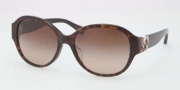 Coach HC8051F Sunglasses Sunglasses - 500113 Dark Tortoise / Brown Gradient