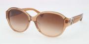 Coach HC8051F Sunglasses Sunglasses - 509413 Sand Beige / Khaki Gradient