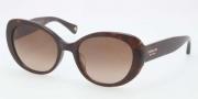 Coach HC8049F Sunglasses Sunglasses - 500113 Tortoise / Brown Gradient