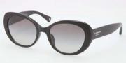 Coach HC8049F Sunglasses Sunglasses - 500211 Black / Gray Gradient