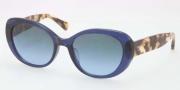 Coach HC8049F Sunglasses Sunglasses - 511017 Navy / Gray Blue Gradient