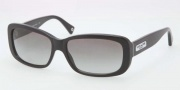 Coach HC8042 Sunglasses Sunglasses - 500211 Black / Grey Gradient