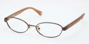 Coach HC5032 Eyeglasses Eyeglasses - 9076 Satin Brown