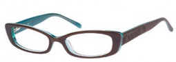 Candies C Toni Eyeglasses Eyeglasses - BRNBL: Brown Blue