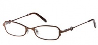 Candies C Tia Eyeglasses Eyeglasses - BRN: Brown