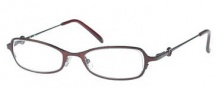 Candies C Tia Eyeglasses Eyeglasses - WN: Wine