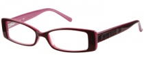 Candies C Tori Eyeglasses Eyeglasses - BUPK: Burgundy Pink