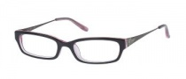 Candies C Reese Eyeglasses Eyeglasses - BRNPK: Brown On Pink