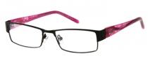Candies C Olympia Eyeglasses Eyeglasses - BLK: Matte Black