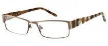 Candies C Olympia Eyeglasses Eyeglasses - GUNBRN: Matte Gunmetal