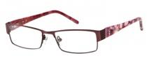 Candies C Olympia Eyeglasses Eyeglasses - PL: Matte Dark Plum
