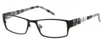 Candies C Omega Eyeglasses Eyeglasses - BLK: Matte Black