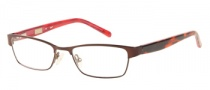 Candies C Onix Eyeglasses Eyeglasses - BRNBU: Matte Red Bronze