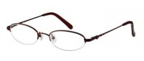 Candies C Jackie Eyeglasses Eyeglasses - WN: Wine