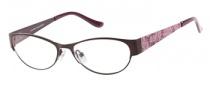 Candies C Cayla Eyeglasses Eyeglasses - PL: Matte Plum