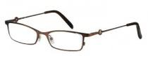 Candies C Carrie Eyeglasses Eyeglasses - BRN: Brown