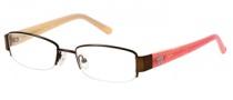 Candies C Bridget Eyeglasses Eyeglasses - BRN: Matte Brown
