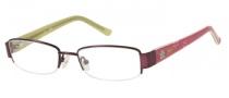 Candies C Bridget Eyeglasses Eyeglasses - PL: Matte Plum