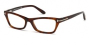 Tom Ford FT5265 Eyeglasses Eyeglasses - 052 Dark Havana