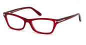 Tom Ford FT5265 Eyeglasses Eyeglasses - 068 Red