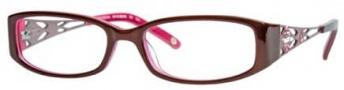 Adrienne Vittadini AV1010 Eyeglasses Eyeglasses - Burgundy