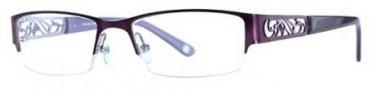 Adrienne Vittadini AV1108 Eyeglasses Eyeglasses - Semi Matte Purple