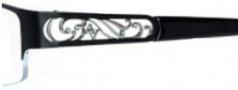 Adrienne Vittadini AV1108 Eyeglasses Eyeglasses - Semi Matte Black