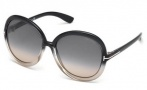 Tom Ford FT0276 Candice Sunglasses Sunglasses - 20B Grey / Gradient Smoke