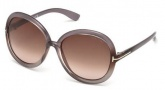 Tom Ford FT0276 Candice Sunglasses Sunglasses - 74Z Pink / Gradient or Mirror Violet