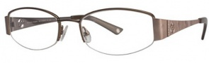 Adrienne Vittadini AV 1018 Eyeglasses Eyeglasses - Brown