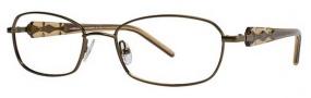 Adrienne Vittandini AV 1020 Eyeglasses Eyeglasses - Brown