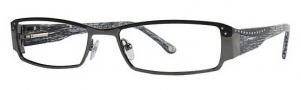 Adrienne Vittadini AV1024 Eyeglasses Eyeglasses - Black / Dark Gunmetal