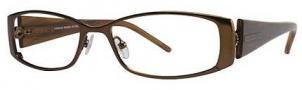 Adrienne Vittadini AV1032 Eyeglasses Eyeglasses - Brown