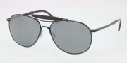 Polo PH3078P Sunglasses Sunglasses - 900340 Shiny Black / Crystal Gray Mirror