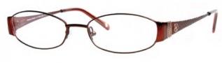 Adrienne Vittadini AV1040 Eyeglasses Eyeglasses - Dark Red