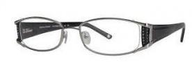 Adrienne Vittadini AV1048 Eyeglasses Eyeglasses - Silver / Black