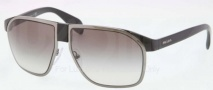 Prada PR 21PS Sunglasses Sunglasses - 1AB0A7 Black Gunmetal / Gray Gradient