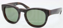 Polo PH4081P Sunglasses Sunglasses - 536052 Top Black on Tortoise / Green