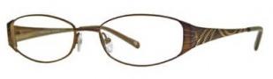 Adrienne Vittadini AV1054 Eyeglasses Eyeglasses - Brown