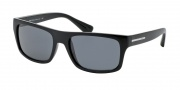 Prada PR 18PS Sunglasses Sunglasses - 1AB0A9 Black / Azure