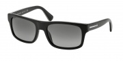 Prada PR 18PS Sunglasses Sunglasses - 1AB2D0 Black / Light Grey Gradient