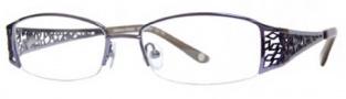Adrienne Vittadini AV1058 Eyeglasses Eyeglasses - Purple