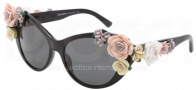 Dolce & Gabbana DG4180 Sunglasses Sunglasses - 501/87 Black / Gray