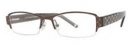 Adrienne Vittadini AV1064 Eyeglasses Eyeglasses - Semi Matte Brown