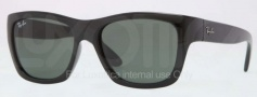 Ray Ban RB4194 Sunglasses Sunglasses - 601 Black / Crystal Green