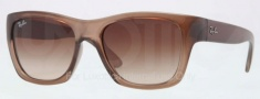 Ray Ban RB4194 Sunglasses Sunglasses - 603285 Brown Demi Gloss / Brown Gradient